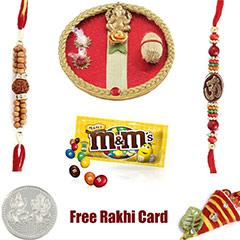 M&Ms Peanut flavor Rakhi Special