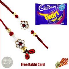 Lumba pair with Cadbury Twirl Bar 43G