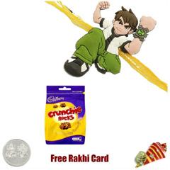 Cadbury Crunchie Rocks Rakhi Special