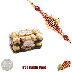 Ferrero Rocher 5 Pieces Boxed Chocolates Rakhi Special
