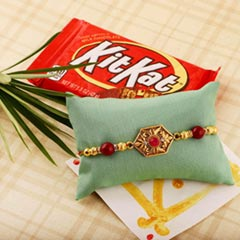 Classical Rakhi & Kit Kat