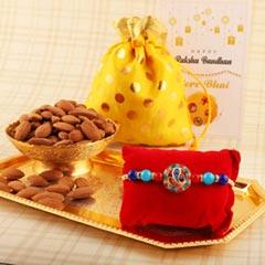 Spiritual Ganesha Rakhi & Almond