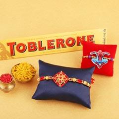Combo Rakhi Set with Toblerone