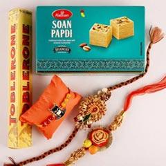 Distinct & Kids Rakhis with Toblerone & Soan