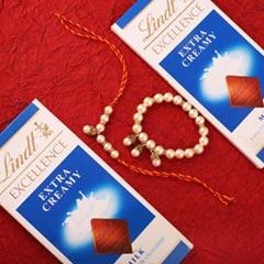 Lindt Bhaiya Bhabhi Affection - Send Rakhi to Toronto