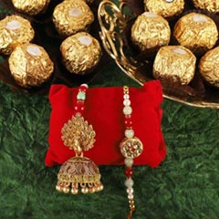 Rakhi Loomba with Ferrero - Send Rakhi to Toronto