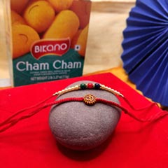 Duo Rakhi Thread  with Chum Chum
