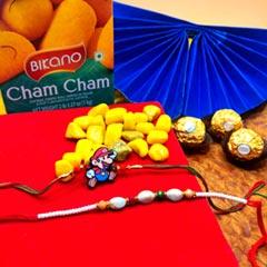 Cham Cham N Ferrero with Rakhi Duo