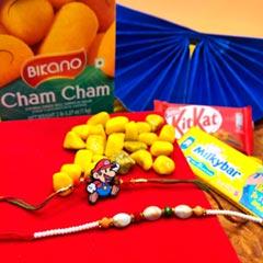 Cham Cham N Chocolaty with Rakhi Duo