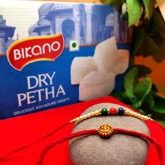 Duo Rakhi Thread  with Petha