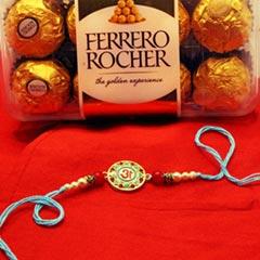 Trendy Rakhi N Chocolate - Send Rakhi to USA