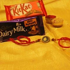 Magical Rakhi with Chocolate Bars