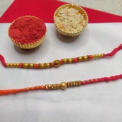 Set of 2 Elegant Rakhi