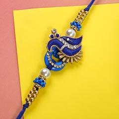 Designer Fancy Diamond Rakhi - For Europe - Send Rakhi to Germany