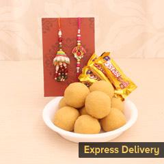 Sweet Rakhi Love for Bhaiya Bhabhi