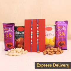 Rakhi with Scrumptious Delights