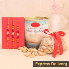 Spectacular Set of 3 Rakhi Combo
