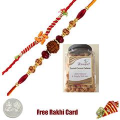 2 Rakhis Kirkland Toasted Coconut cashew