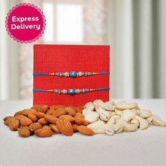 Cashews, Almonds n Rakhis