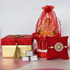 Ganesha Combo for  Rakhi