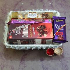 Exclusive Gift Combo - Rakhi with Cookies