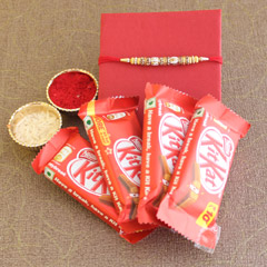 Rakhi Kit Kat Combo