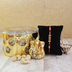 A Thoughtful Present - Rakhi with Cookies