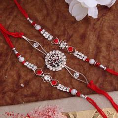 Charming Silver Rakhis