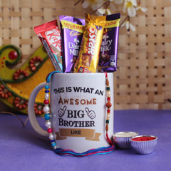 Sweet surprise for sweet brothers