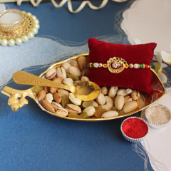 Nutritious & thoughtful Rakhi combo