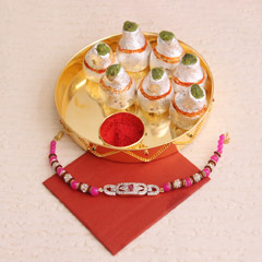 Express of love - Send Silver Rakhi Online