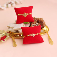 Special combo for dearest brothers - Send Rakhi to Indore