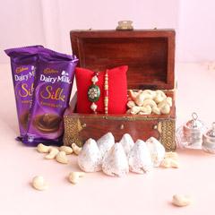 Special and Affectionate Rakhi Hamper - Premium Rakhis