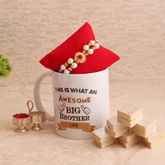 Happiness Hamper - Rakhi with Mug