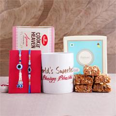 Super Special Rakhi for Bro - Rakhi with Mug