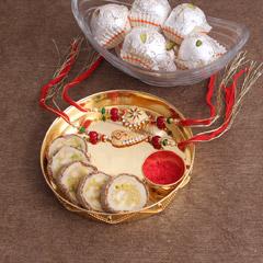 Happy Rakhi Hamper - Premium Rakhis