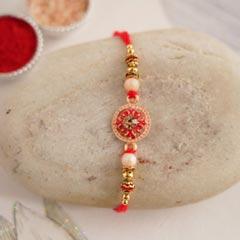 Floral Designer Rakhi - Fancy Rakhi