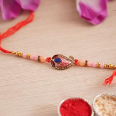 Designer Paisley Rakhi - Fancy Rakhi
