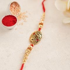 Antique Designer Rakhi - Fancy Rakhi