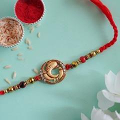 Ethnic Ganesha Designer Rakhi - Fancy Rakhi
