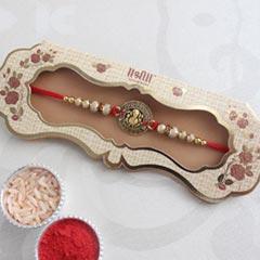 Traditional Ganpati Designer Rakhi