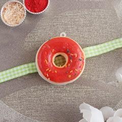 Doughnut Rakhi for Kids - Send Kids Rakhi Online