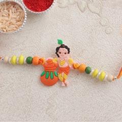 Krishna Kids Rakhi - Send Kids Rakhi Online