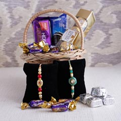 Yummy Chocolate Rakhi Gift Hamper