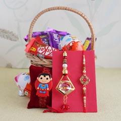 Delicious Chocolate surprise for Bhaiya Bhabhi