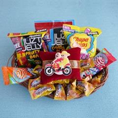 Chocolaty Goodie Box with Kids Rakhi