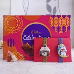 Kids Rakhi with Cadbury Celebration