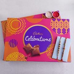 Cadbury Celebration and Beaded Rakhi