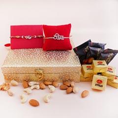 Dryfruit Signature Box with AD Rakhis