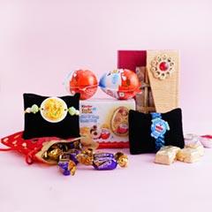 Noodles Rakhi N Doraemon Rakhi Gift Hamper